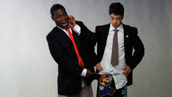 Tracy Morgan and Christopher Mintz-Platz Cover Shoot